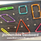 Make Your Own Geoboard
