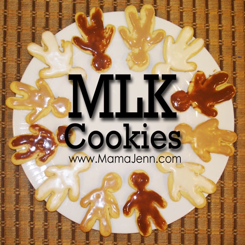 MLK Martin Luther King themed Cookies
