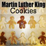 Martin Luther King Cookies