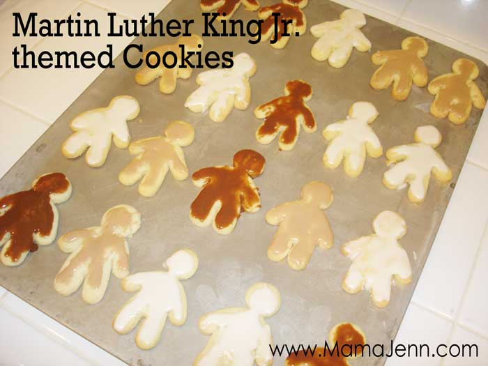 Martin Luther King Jr themed Cookies