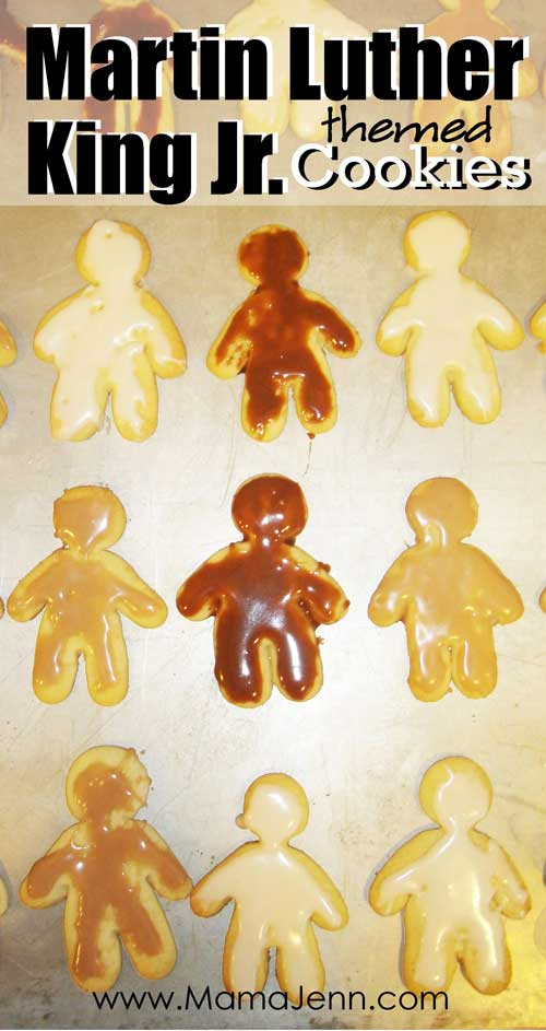 Martin Luther King Jr themed MLK Cookies
