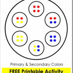 Printable Color Wheel Activity