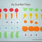 The Kid's Garden Plans {printable}
