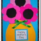 Mother's Day Flower Card & Bookmark