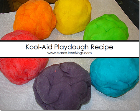 Kool Aid Play Dough Recipe