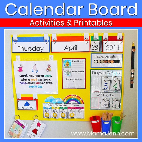 Our NEW Calendar Board