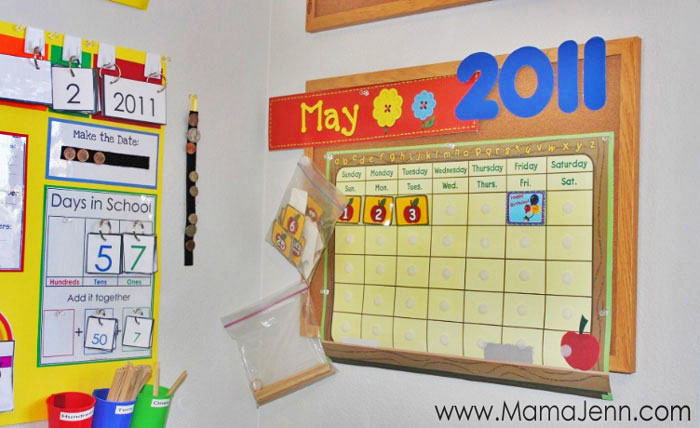 wall calendar for school and calendar board