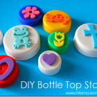 Make Your Own {Bottle Top} Stamps