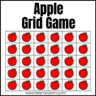 Apple Grid Games: Color Matching & Counting