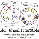 Color Wheel Printables {Now on MamaJenn.com}