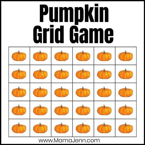 pumpkin grid game