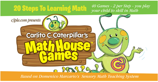 Carlito C. Caterpillar's MathHouse Game Cards {Review & Giveaway}