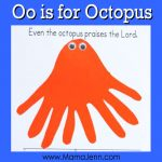 Oo for Octopus: MFW Kindergarten Printables
