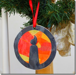 Truth in the Tinsel Ornaments {Day 1-6}
