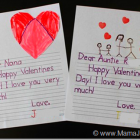 Valentines Letters for Little Ones {FREE Tracing Printables}