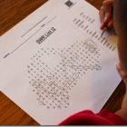 Customizable Spelling List Word Search