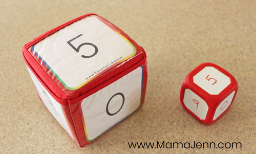 Education Cubes and Write On Wipe Off Dice