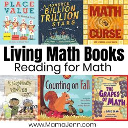 Living Math Books Reading for Math