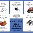 Old Testament Books of the Bible {Printables}