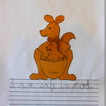 Kk for Kangaroo {MFW Kindergarten Printables}