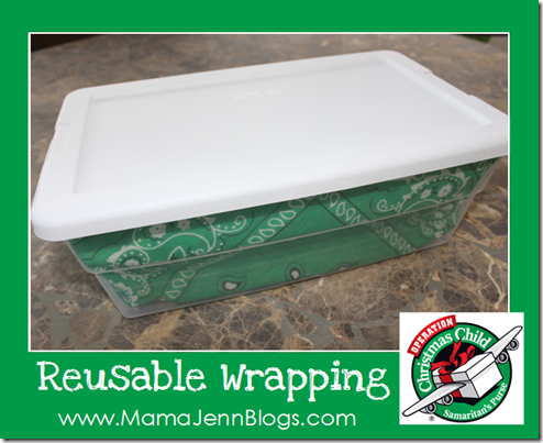 Operation Christmas Child: Reusable Wrapping