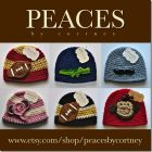 Peaces By Cortney: Handmade Crochet Hats & Beanies {GIVEAWAY}