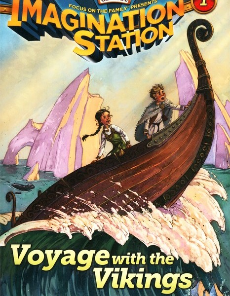 Adventures in Odyssey: The Imagination Station Book Series {Review}