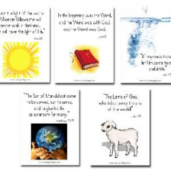Bible Verse & Copywork Printables (from MFW Adventures)