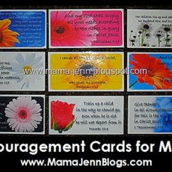 Encouragement Cards for Moms {printable}