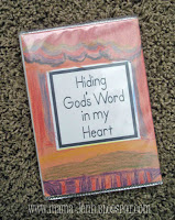 Bible Verse Memory Books