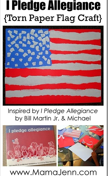 I Pledge Allegiance {Flag Craft}
