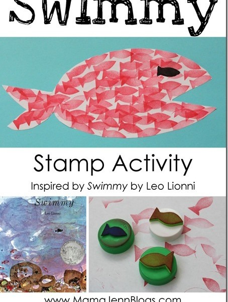 Swimmy the Fish {Stamp Craft}