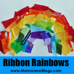 What Makes a Rainbow? {Ribbon Craft}