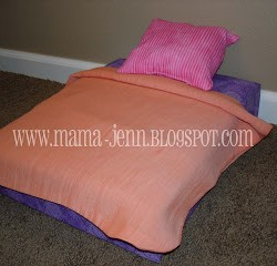 Make Your Own Doll Bed