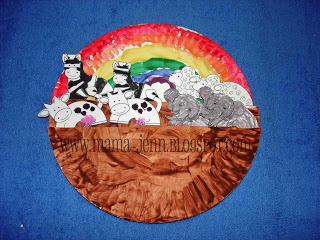 Noah's Ark {paper plate} Craft