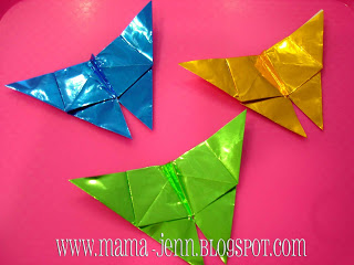 stART~Butterflies for Kiri {origami}