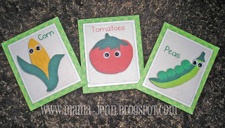 Printable Veggie Seed Packets