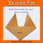 Xx for Fox: MFW Kindergarten Printables