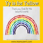 Yy for Yellow: MFW Kindergarten Printables