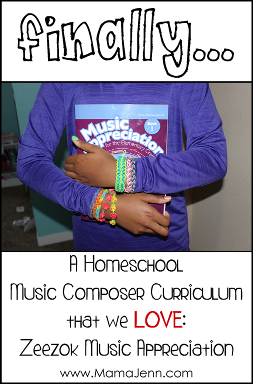 Zeezok Music Appreciation: A Homeschool Composer Curriculum that we LOVE!
