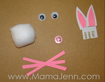 Easter Bunny Craft Magnet