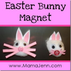 Easter Bunny Magnet ~ Easter Bunny Are You For REAL?