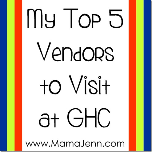 My Top Five Vendors to Visit at GHC