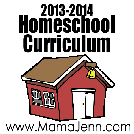 2013-2014 Homeschool Curriculum
