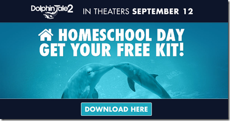 Dolphin Tale 2 Homeschool Day