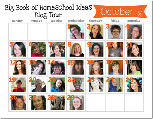 The Big Book of Homeschool Ideas Blog Tour