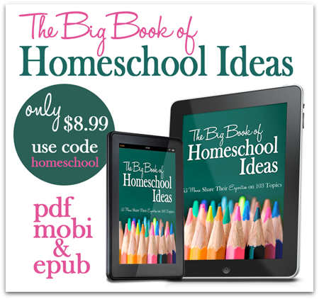 The Big Book of Homeschool Ideas SALE