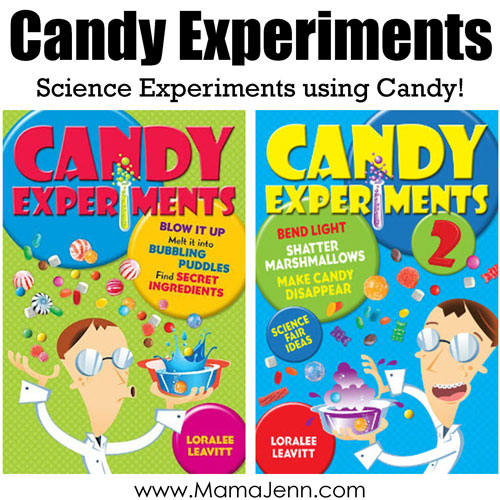 Candy Experiments Books