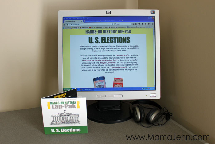 Home School in the Woods US Elections Lap-Pak
