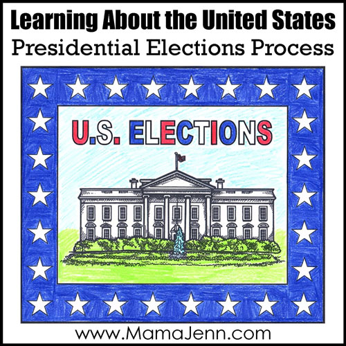 United States Elections Lapbook: Learning About the Elections Process